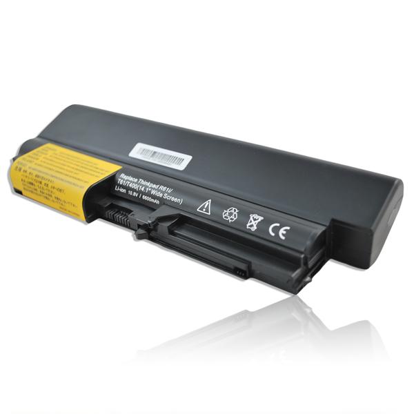 """Przykład baterii 9 ogniwowej w laptopach z serii Lenovo T400 14"""""""