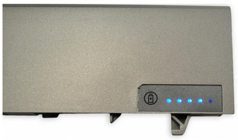 Wskaźnik diodowy w baterii Dell E6400