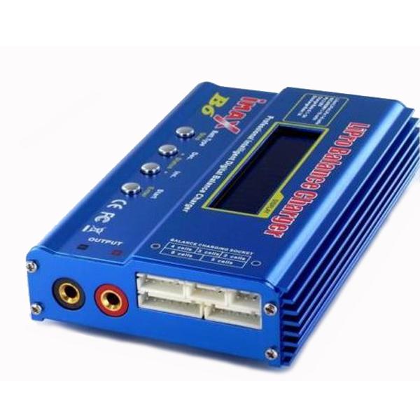 Popularna ładowarka imax B6 do ładowania wszystkich typów ogniw.